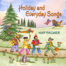 HOLIDAY AND EVERYDAY SONGS cover image