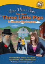 ONCE UPON A SIGN: THE NEW THREE LITTLE PIGS cover image