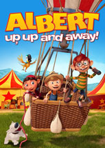 ALBERT: UP, UP AND AWAY! cover image