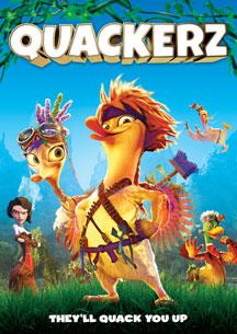 QUACKERZ (BLU-RAY & DVD) cover image