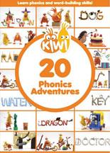 KIWI: 20 PHONICS ADVENTURES cover image