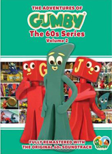 ADVENTURES OF GUMBY: 60S SERIES VOLUME 2 cover image