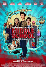 MIDDLE SCHOOL: THE WORST YEARS OF MY LIFE cover image