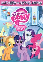 MY LITTLE PONY FRIENDSHIP IS MAGIC: EXPLORING THE CRYSTAL EMPIRE cover image