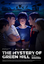 MYSTERY OF GREEN HILL, THE cover image