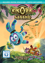 KIKORIKI. LEGEND OF THE GOLDEN DRAGON cover image