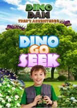 DINO DAN: DINO GO SEEK cover image