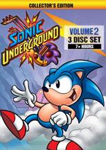 SONIC UNDERGROUND: VOLUME 2 cover image