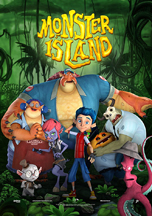 MONSTER ISLAND cover image
