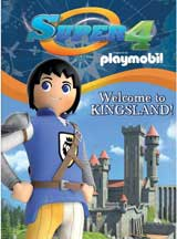 SUPER 4: WELCOME TO KINGSLAND! cover image