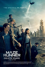 MAZE RUNNER: THE DEATH CURE cover image
