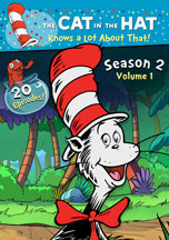CAT IN THE HAT KNOWS A LOT ABOUT THAT!, THE: SEASON 2; VOLUME 1 cover image