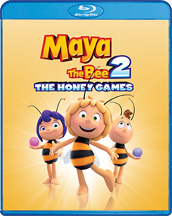 MAYA THE BEE 2: THE HONEY GAMES BLU-RAY/DVD cover image