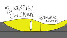 BREAKFAST CHICKEN cover image