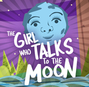 GIRL WHO TALKS TO THE MOON, THE cover image