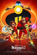 INCREDIBLES 2 cover image