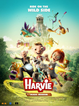 HARVIE AND THE MAGIC MUSEUM cover image