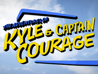 KYLE & CAPTAIN COURAGE