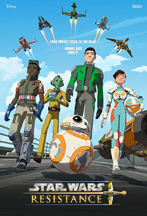 STAR WARS RESISTANCE cover image