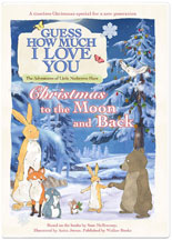 GUESS HOW MUCH I LOVE YOU: CHRISTMAS TO THE MOON AND BACK cover image