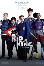 KID WHO WOULD BE KING, THE cover image