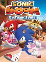 SONIC BOOM: GO TEAM SONIC! cover image