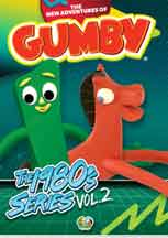 NEW ADVENTURES OF GUMBY, THE: 1980S VOLUME 2 cover image