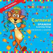 CARNAVAL: SPANISH LEARNING SONGS cover image