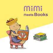 MIMI MEETS BOOKS cover image