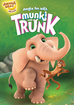 JUNGLE FUN WITH MUNKI & TRUNK cover image