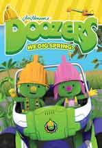 DOOZERS WE DIG SPRINIG! cover image