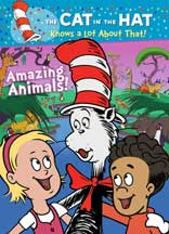 CAT IN THE HAT KNOWS A LOT ABOUT THAT! AMAZING ANIMALS!, THE cover image