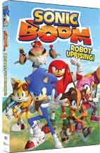 SONIC BOOM: ROBOT UPRISING! cover image