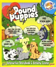 POUND PUPPIES INTERACTIVE STORYBOOK & ACTIVITY CTR cover image