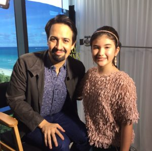 Zoe C. and Lin Manuel-Miranda